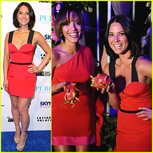 Olivia Munn: Exotic Evening with Selita Ebanks!
