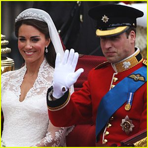 Prince William & Kate Middleton: Carriage Procession