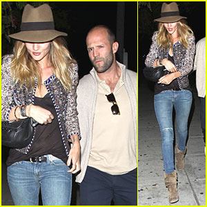Rosie Huntington-Whiteley & Jason Statham: Matsuhisa Mates