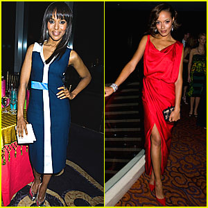 Kerry Washington & Selita Ebanks: New Yorkers for Children!