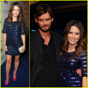 Sophia Bush: 'Elle' Women in Music Event with Austin Nichols!