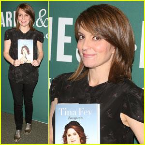 Tina Fey: 'Bossypants' Book Signing!