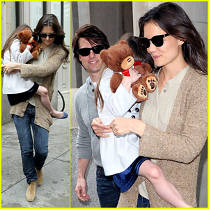 Tom Cruise & Katie Holmes: Day Out with Suri!