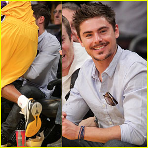 Zac Efron: Roxbury Club with Mystery Blonde!