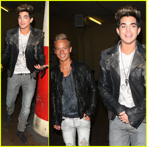 Adam Lambert: Hotel Cafe with Sauli Koskinen!