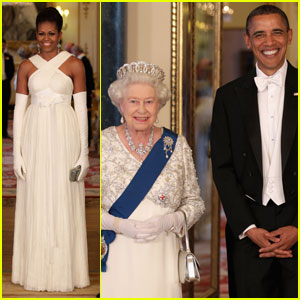 President Obama: Buckingham Banquet with Michelle!