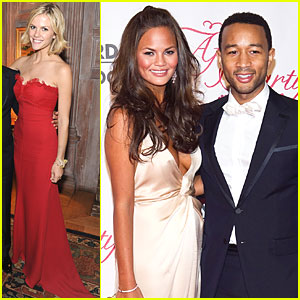 Brooklyn Decker: White House Cocktail Reception with Chrissy Teigen!