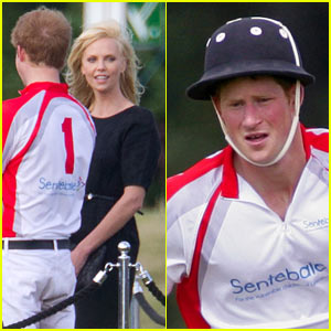 Prince Harry &#038; Charlize Theron: Polo Pair