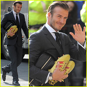 David Beckham: Manchester Man!