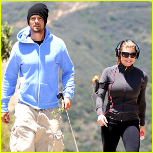 Fergie & Josh Duhamel: Hiking in Brentwood!