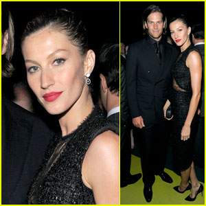 Gisele Bundchen: Robin Hood Gala with Tom Brady!