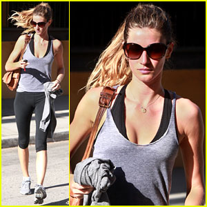 Gisele Bundchen: 'I Am My Worst Critic'