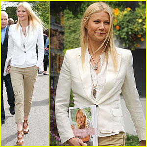 Gwyneth Paltrow: Chelsea Flower Show!