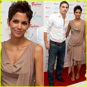 Halle Berry: Nikki Beach Opening with Olivier Martinez!