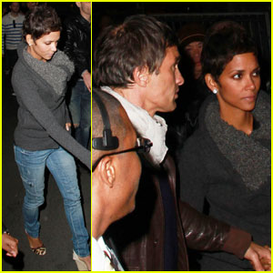 Halle Berry: Kylie Minogue Concert with Olivier Martinez!