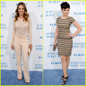 Hilary Swank & Ginnifer Goodwin Premiere 'Something Borrowed'