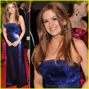 Isla Fisher - MET Ball 2011