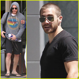 Jake Gyllenhaal Works It Out
