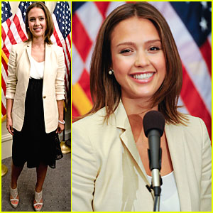 Jessica Alba: Safe Chemicals Act in Washington, D.C.