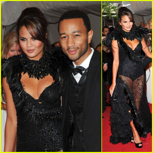 John Legend - MET Ball 2011 with Chrissy Teigen!