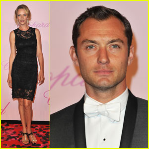 Jude Law & Uma Thurman: Chopard Party!