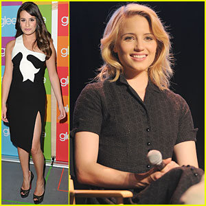 Lea Michele &#038; Dianna Agron: 'Glee' Screening and Q&#038;A!