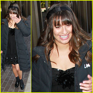 Lea Michele Loves Long Beach