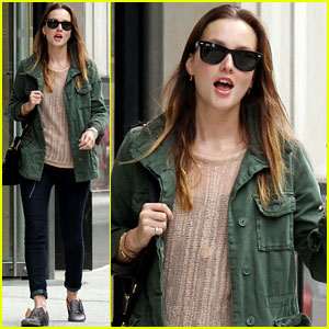 Leighton Meester: Out and About in NYC