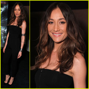 Maggie Q: Choking Guys with Her Inner Thighs!