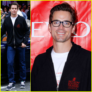 Matt Bomer: EIF Revlon Run/Walk!