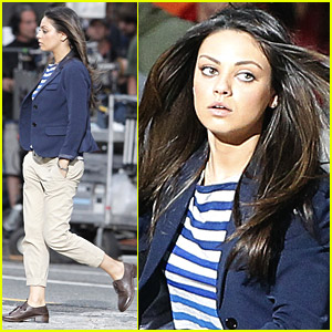 Mila Kunis Takes Off For 'Ted'