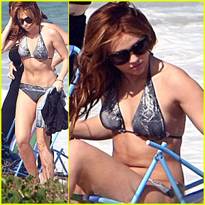 Miley Cyrus: Bikini Body in Brazil!