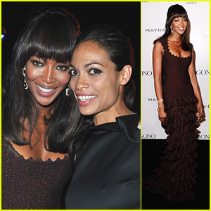 Naomi Campbell & Rosario Dawson: Party Partners