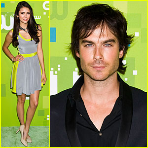 Nina Dobrev: 'Vampire Diaries' at CW Upfront!
