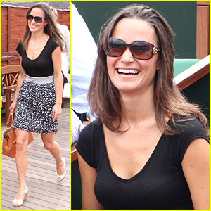 Pippa Middleton: French Open Fan