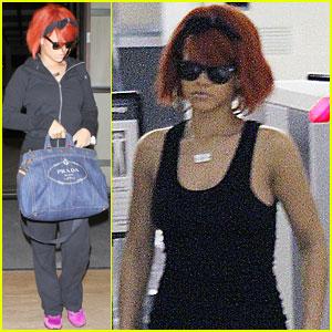 Rihanna: LAX Lady