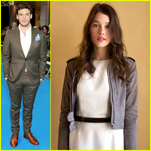 Sam Claflin & Astrid Berges-Frisbey: Exclusive Interviews!