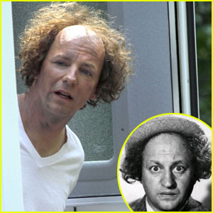 Sean Hayes: 'Three Stooges' Costume!