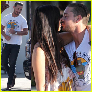 Shia LaBeouf: Kiss Kiss with Karolyn Pho!