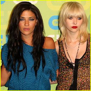Taylor Momsen & Jessica Szohr Exit 'Gossip Girl'