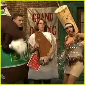 Justin Timberlake: 'Liquorville' SNL Sketch with Lady Gaga