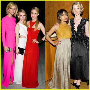 Zoe Kravitz: MET Ball After-Party with Mia Wasikowska!