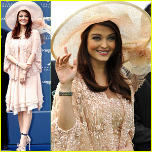 Aishwarya Rai: Ambassadress of Elegance at the Prix de Diane