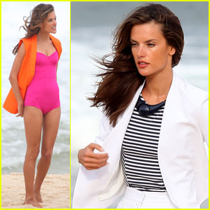 Alessandra Ambrosio: Colcci Beach Shoot!