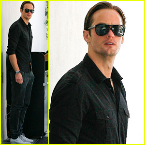 Alexander Skarsgard: I Love the 'True Blood' Cast!
