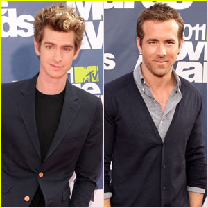 Andrew Garfield & Ryan Reynolds - MTV Movie Awards 2011
