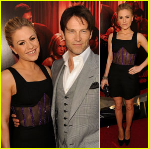 Anna Paquin & Stephen Moyer: 'True Blood' Premiere Pair!