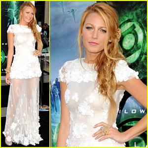 Blake Lively: 'Green Lantern' Premiere!