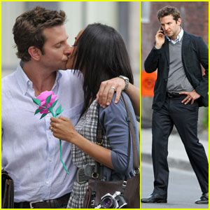 Bradley Cooper &#038; Zoe Saldana: Kiss Kiss for 'The Words'!