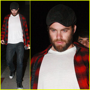 Chris Pine: Bearded Papaya King